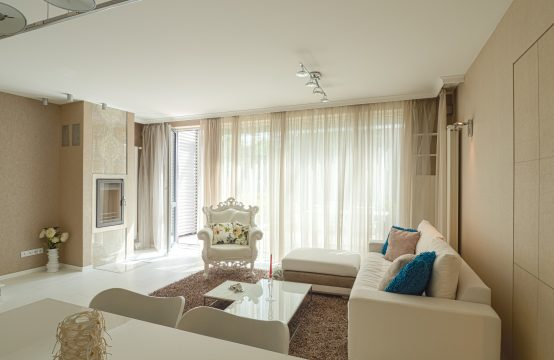 For rent two bedroom with private yard in Lozenets